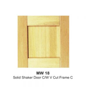 MW18-SOLID-SHAKER-DOOR-C-W-V-CUT-FRAME-C